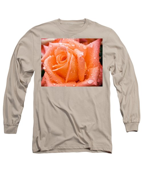 Watered Rose Long Sleeve T-Shirt