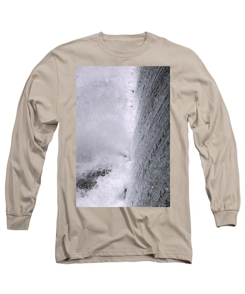 Waterfall Close-up Long Sleeve T-Shirt
