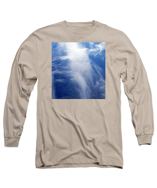 Waterfall In The Sky Long Sleeve T-Shirt