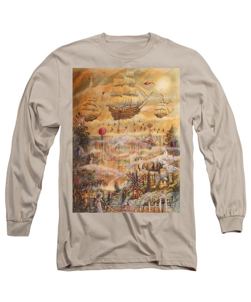 Waterfall Of Prosperity Long Sleeve T-Shirt