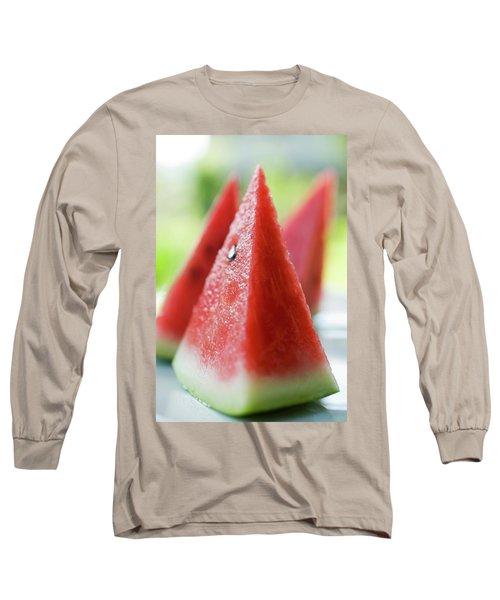 Watermelon Wedges Long Sleeve T-Shirt