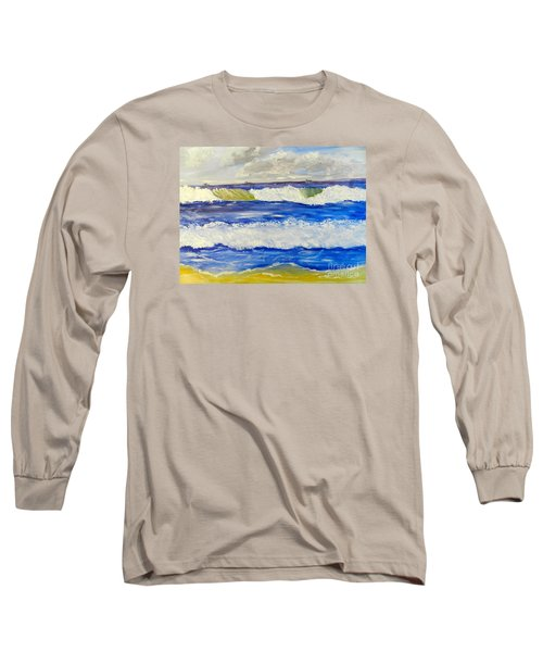 Wave At Bulli Beach Long Sleeve T-Shirt