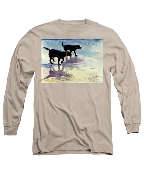 Waverunners Long Sleeve T-Shirt by Molly Poole