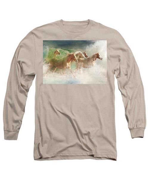Waves Of God's Glory Long Sleeve T-Shirt