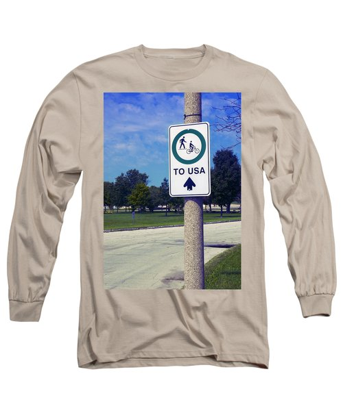 Way To The Usa Long Sleeve T-Shirt