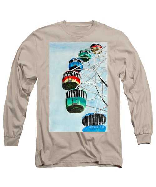 Way Up In The Sky Long Sleeve T-Shirt