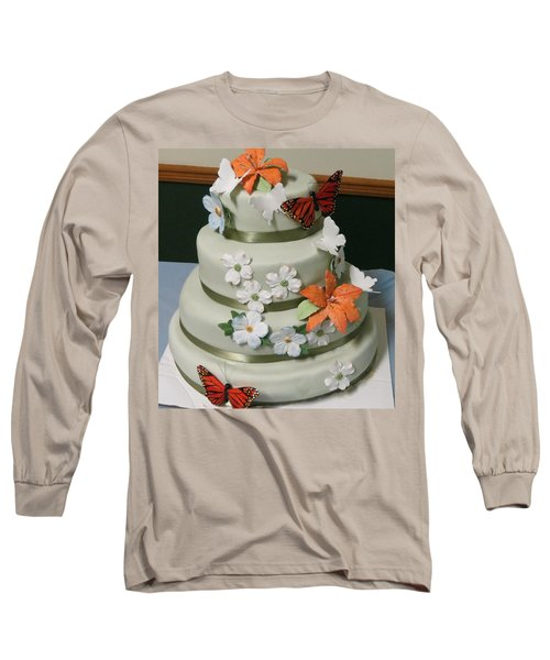 Wedding Cake For April Long Sleeve T-Shirt