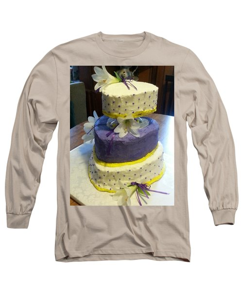 Wedding Cake For May Long Sleeve T-Shirt