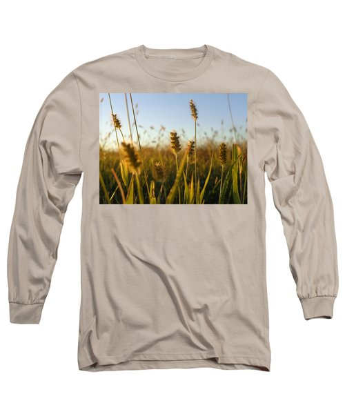 Long Sleeve T-Shirt featuring the photograph Weeds by Joseph Skompski