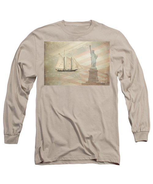 Welcome To Nyc Long Sleeve T-Shirt