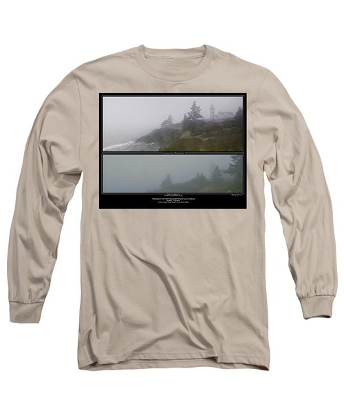 Long Sleeve T-Shirt featuring the photograph We'll Keep The Light On For You by Marty Saccone