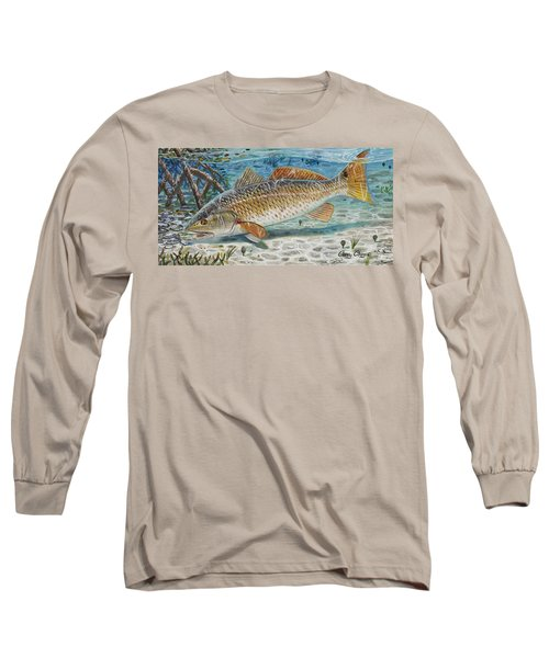 West Coast Red Long Sleeve T-Shirt