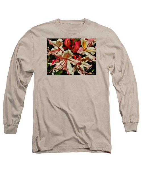 Long Sleeve T-Shirt featuring the photograph Western Azalea by VLee Watson