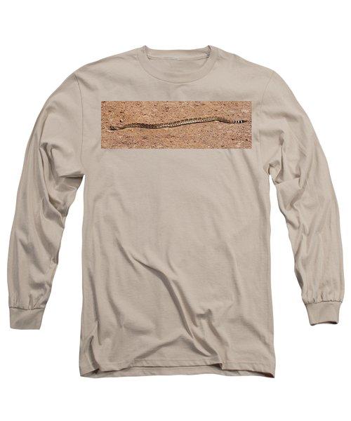 Western Diamondback Rattle Snake Long Sleeve T-Shirt