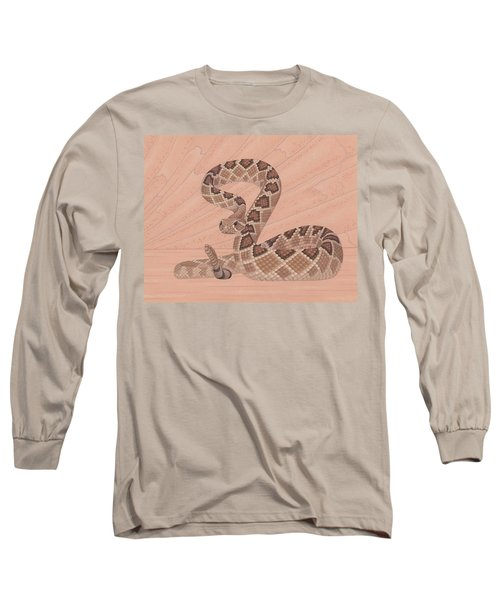Western Diamondback Rattlesnake Long Sleeve T-Shirt
