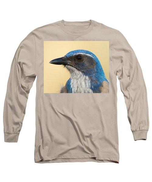California Scrub-jay Long Sleeve T-Shirt