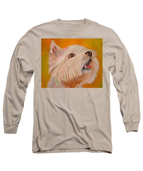Westie Portrait Long Sleeve T-Shirt