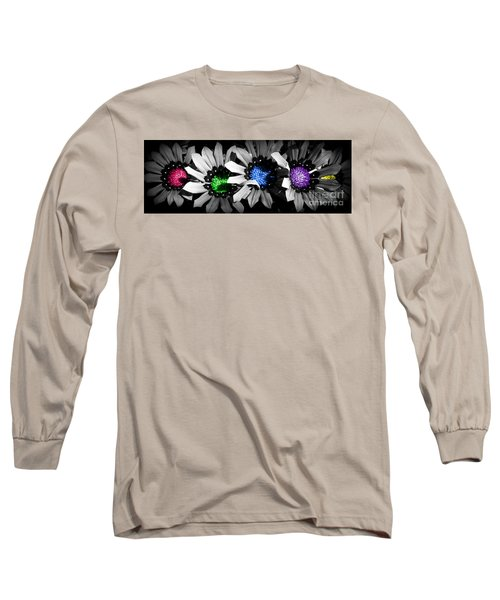 Colored Blind Long Sleeve T-Shirt by Janice Westerberg