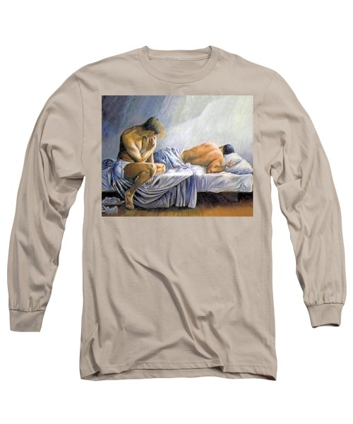 What Is He Dreaming Long Sleeve T-Shirt