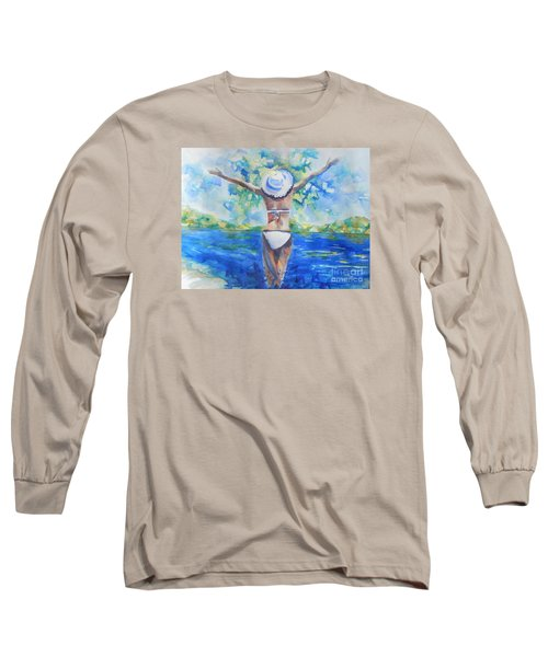 What Lies Ahead Series Forgive Long Sleeve T-Shirt