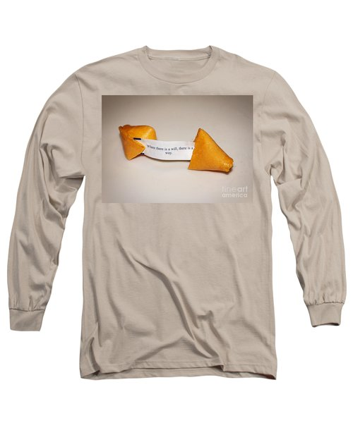 Where There Is A Way Long Sleeve T-Shirt by Janice Rae Pariza