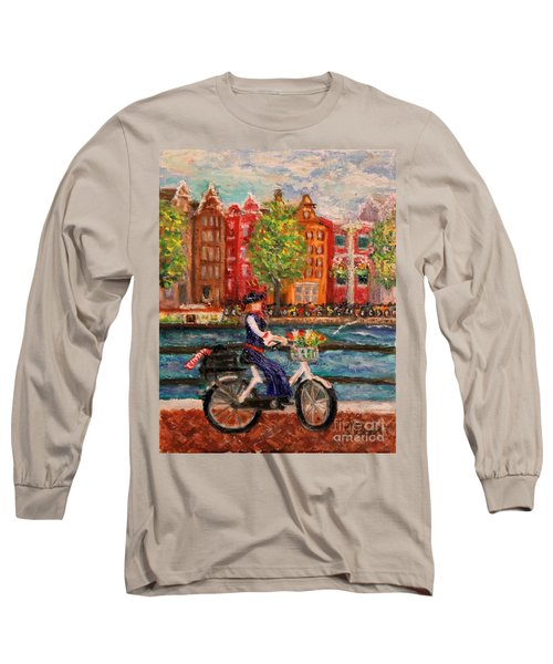 Where To ... Amsterdam Long Sleeve T-Shirt