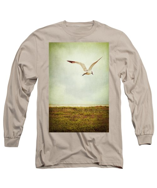 Where To Go? Long Sleeve T-Shirt by Trish Mistric