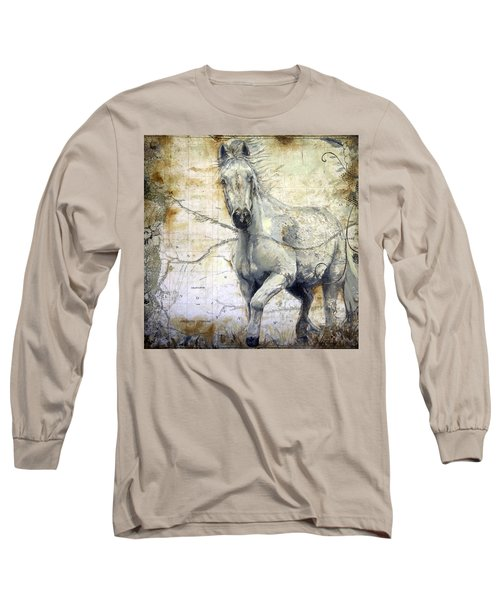 Whipsers Across The Steppe Long Sleeve T-Shirt