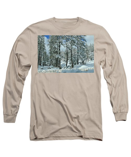 Whispering Snow Long Sleeve T-Shirt