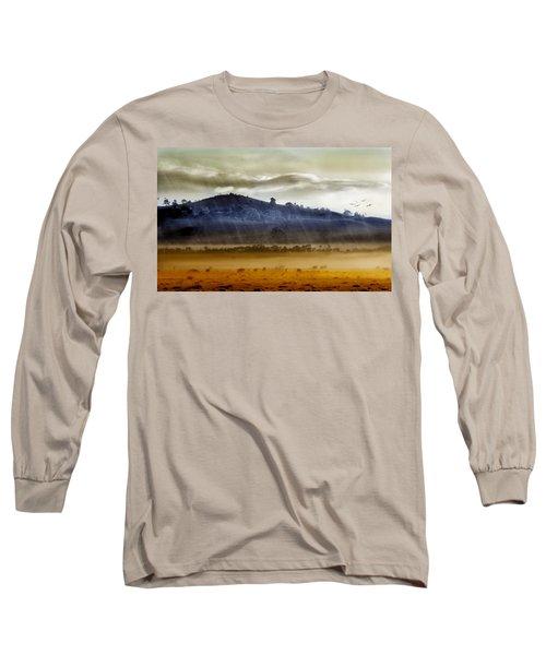 Whisps Of Velvet Rains... Long Sleeve T-Shirt