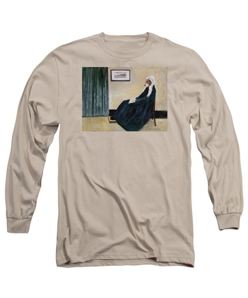 Whistlin Mother Long Sleeve T-Shirt by Randy Burns