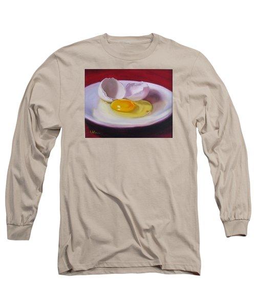 White Egg Study Long Sleeve T-Shirt