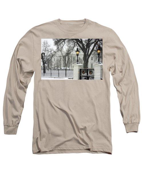 White House Christmas Long Sleeve T-Shirt