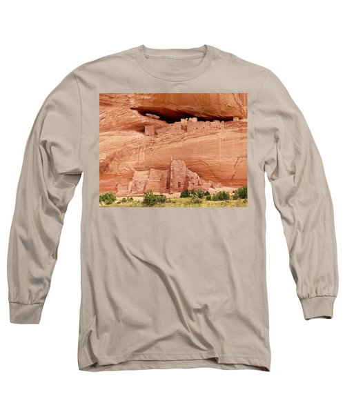 White House Ruins Canyon De Chelly Long Sleeve T-Shirt
