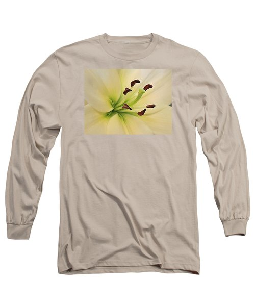 White Lily Pp-6 Long Sleeve T-Shirt