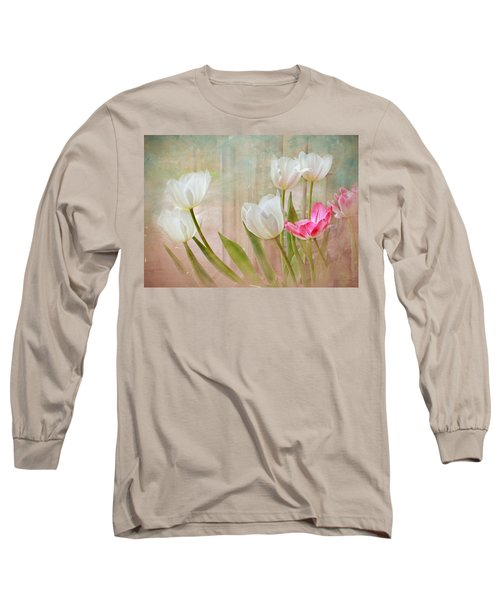 White Lily Show Long Sleeve T-Shirt by Bonnie Willis
