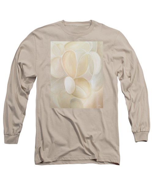 White On Long Sleeve T-Shirt