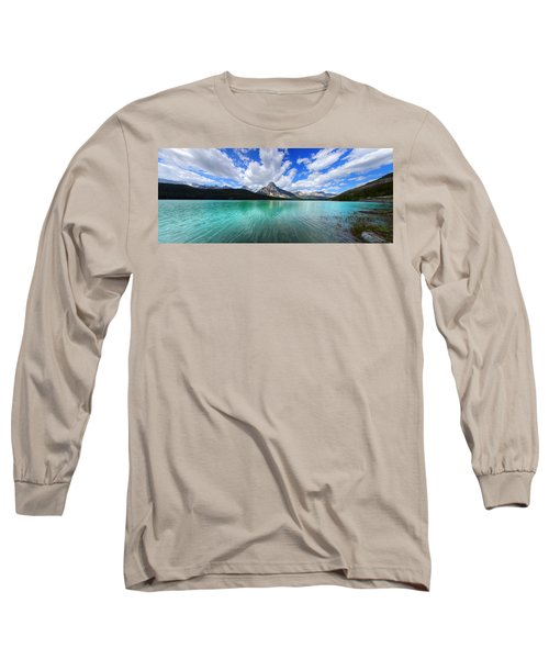 White Pyramid Long Sleeve T-Shirt