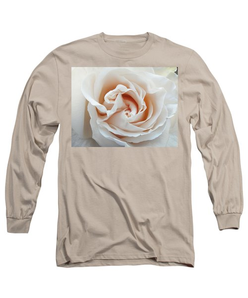 Long Sleeve T-Shirt featuring the photograph White Rose by Tiffany Erdman