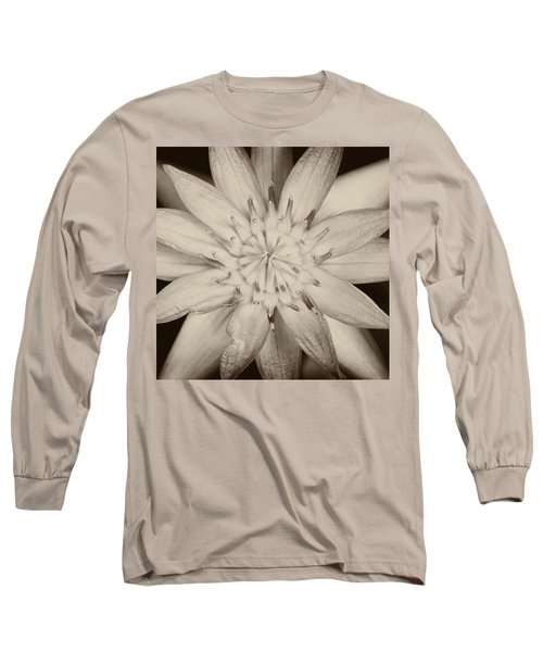 Lotus Long Sleeve T-Shirt by Ulrich Schade