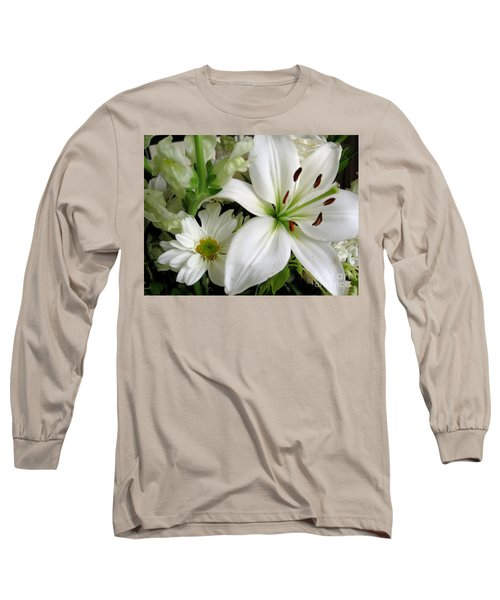 White Wonder Long Sleeve T-Shirt by Rory Sagner