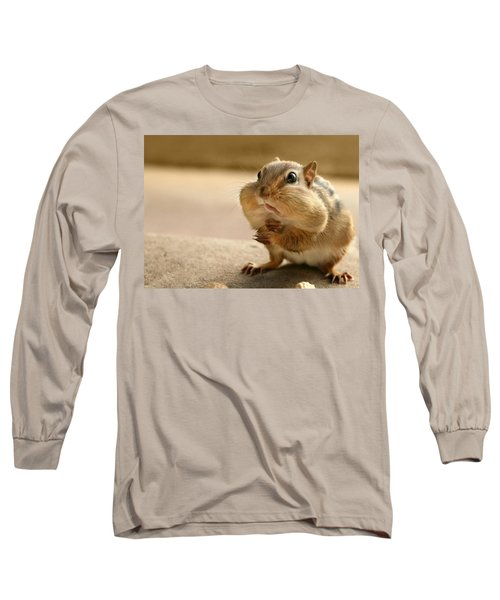 Who Me Long Sleeve T-Shirt by Lori Deiter