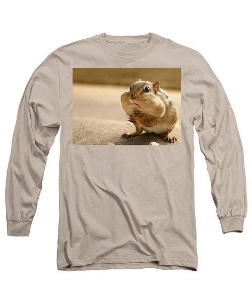 Who Me Long Sleeve T-Shirt