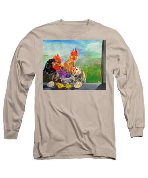 Whose Egg Isthat Long Sleeve T-Shirt