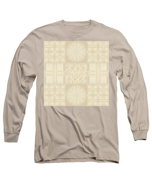 Wicker Quilt Long Sleeve T-Shirt by Kevin McLaughlin