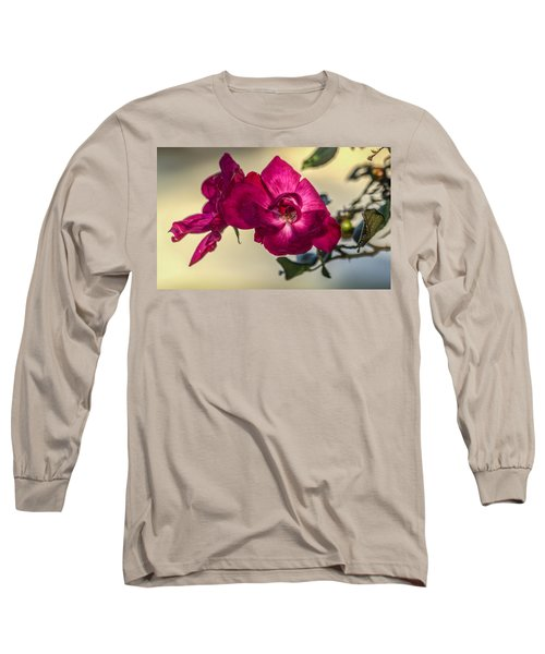 Wild Rose Long Sleeve T-Shirt