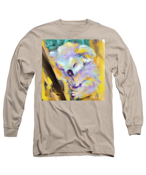 Wildlife Cuddle Koala Long Sleeve T-Shirt