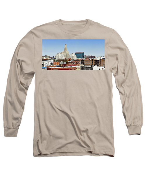 Williamsburg Savings Bank In Downtown Brooklyn Ny Long Sleeve T-Shirt