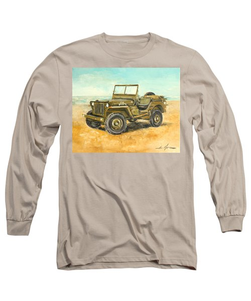 Willys Jeep Long Sleeve T-Shirt