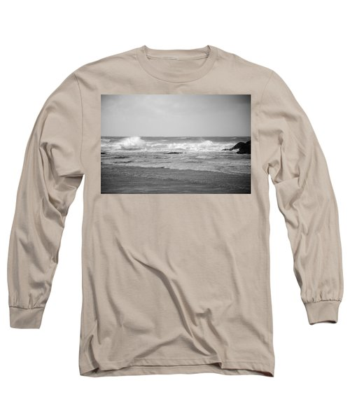 Wind Blown Waves Tofino Long Sleeve T-Shirt by Roxy Hurtubise